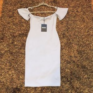 NWT Missguided Grey Dress